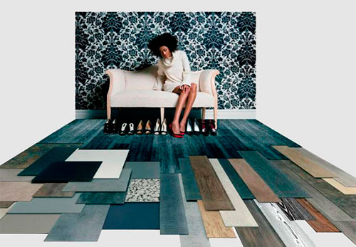Многообразие LVT покрытий. Как выбрать виниловую плитку, ее виды, укладка, характеристики, толщина.